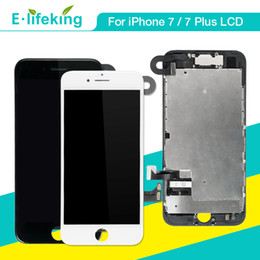 Iphone front camera replacement online shopping - Full Assembly For iPhone Plus LCD Display Touch Screen Digitizer Replacement With Front Camera Parts Top Quality