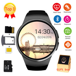 $enCountryForm.capitalKeyWord Australia - KW18 Bluetooth smart watch full screen Support SIM TF Card Smartwatch Phone Heart Rate for apple gear s2 huawei xiaomi