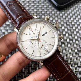 $enCountryForm.capitalKeyWord Australia - 2018 Fashion Watch Luxury Chronograph Watch Stainless Steel Japanese OS Quartz Movement Sports Men Mens Watch Watches Wristwatch