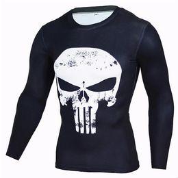 Jerseys Wolf Australia - Mens Compression Shirts 3D Teen Wolf Jerseys Long Sleeve T Shirt Fitness Men Lycra MMA Crossfit T-Shirts Tights Brand Clothing C20
