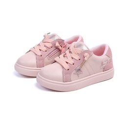 $enCountryForm.capitalKeyWord Australia - NEW 1pair Genuine Leather Shoes Children Sneakers Sports Cheap Girl shoes,breathable kid shoes