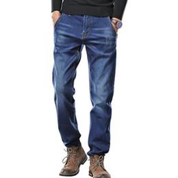 $enCountryForm.capitalKeyWord Australia - Men's Casual Autumn Denim Cotton Hip Hop Loose Work Long Trousers Jeans Pants Men Jeans Pants Plus Size 44 46 48