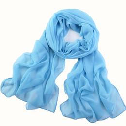 $enCountryForm.capitalKeyWord UK - Fashion Chiffon Silk Scarf Women 2019 New Long Soft Thin Wrap Beach Scarf Hijab foulard femme bufanda Mujer High Quality#H20