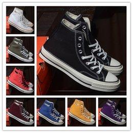 $enCountryForm.capitalKeyWord Australia - Mens 119970s Running Shoes Stars High Cut Top Classic Fashion Canvas Shoe Metal Eyelet Women Designer Sneakers Casual Shoes Mens Sport Shoes