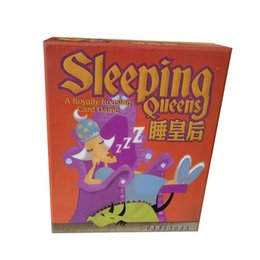 queen games Australia - Sleeping Queens Princess Board Game Multiplayer Players For Family Party Wake Queens Up Strategy Game Educational Toys