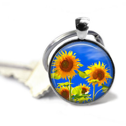 $enCountryForm.capitalKeyWord Australia - Sunflower key chain, Sun flower gift, Flower keychain, Happy key chains, Beautiful flowers, Unique gifts, Gifts for her, Nature gifts
