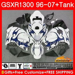 $enCountryForm.capitalKeyWord Australia - Body For SUZUKI Hayabusa GSXR1300 blue flames 96 97 98 99 1996 1997 1998 1999 24NO.224 GSX-R1300 GSXR 1300 00 01 07 2000 2001 2007 Fairing