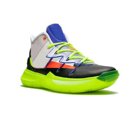 c04b91fbf526a 2019 New Released 5 5s Basketball Shoes All Star for Top Quality Kyrie  Chaussures Green Rokit Mens Trainers Sports Sneakers