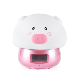 $enCountryForm.capitalKeyWord UK - Kids Bedroom Usb Charging Alarm Clock Night Light Easy Setting Remote Control Soft Pat Cute Colorful Decorative Led Cartoon Pi