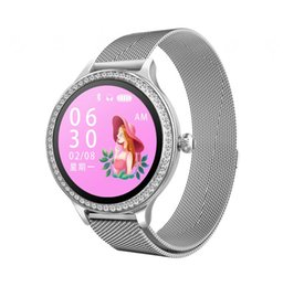Multi Screen Support UK - Woman Smart Sports Watch Color Screen Supports IOS+Android Multi-Language Heart Rate Blood Pressure