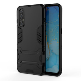 cool armor NZ - For Oppo Find X2 Pro Case Fashionable Stand Rugged Combo Hybrid Armor Bracket Impact Holster Cool Cover For Oppo Find X2 Pro