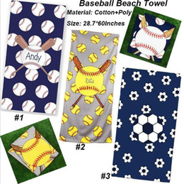 $enCountryForm.capitalKeyWord NZ - Square beach towels superfine fiber towel fabric football baseball Softball sports robes blankets children kids gifts dc542