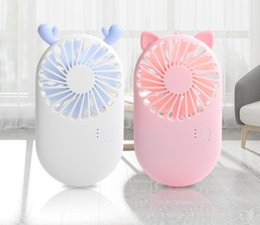 $enCountryForm.capitalKeyWord Australia - Newest Mini Fans Foldable Hand Held Fans Cooling Fan Rechargeable Air Conditioning Smart Fan Electric Fans For Work Sports Travel Home