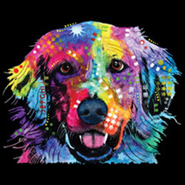 0d5eac25 Labrador Retriever Colorful Lab Bright Colors Art Design T-Shirt Tee size  discout hot new tshirt harajuku Summer 2018 tshirt