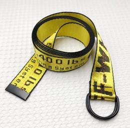 Belts For Men Cheap Australia - Wholesale New Fashion off Double ring buckle Canvas Luxury Designer cheap Belts For Men Woman Casual Loose Waist Strap Jeans belt