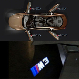 Bmw M3 Lights Australia - Maxup 2pcs Dedicated Car door Projector Laser lamp For M3 Logo For BMW Welcome light E60 E61 E63 E64 E65 E66 E67 E68 E89 E86 E85