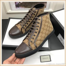 Vente en gros gucci Hommes Casual Chaussures Chaussures Respirant lacets de luxe Meilleur Courir Sport Outdoor marche Footwears Chaussures Scarpe