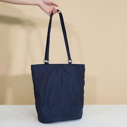 cc575923340 Nylon Foldable Shopping Bag Women Big Tote Bag Fashion Girl Book Bags  Portable Utility Tote Organization Resuable Shopping Bags