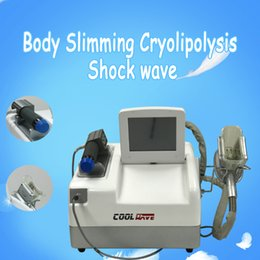 Wholesale Home Salon Use vacuum liposuction shock wave cryolipolysis machine for sale Portable cellulite reduce weight loss machine