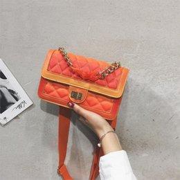Brand Computer Australia - Summer Chain Bag Handbags Women Fashion Brand Luxury Handbag Women Bag Simple Color Designer 2019 Crossbody Bag Bolsas