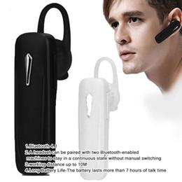 Discount bluetooth listening - 2019 M163 Bluetooth Headset 4.1 Wireless In-Ear Headphones Mini Business Sports Accessories Listen to Music Gift Headpho