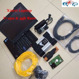 Free Software For Laptop Australia - ICOM A2 500GB HDD Software V2016.09 with For BMW ICOM A2 NEXT diagnostic tool with T-hinkPad X201t I7 , 4G Laptop free shipping