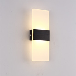 house numbers led lights Australia - Outdoor waterproof led wall lamp garden light led European balcony stair outside wall lamp indoor house number lamp - L27