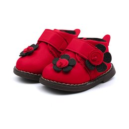 $enCountryForm.capitalKeyWord UK - Baby Children Warm Girls Floral Sneaker Boots Snow Kids Shoes for Baby Boys Girls Children's Casual Sneakers #9