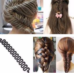 Hair Braiding Accessories Australia - 3pcsfashion Braiding Braider Tool Roller With Hair Accessories Twist Styling Bun Gum For Hair Styling Hairstyle Maker