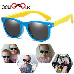 Baby Kid Sunglasses Australia - Flexible Polarized Kids Sunglasses Child Black Sun Glasses For Baby Girls Boy Sunglasses Eyeglasses 2-11 Years Kids Glasses