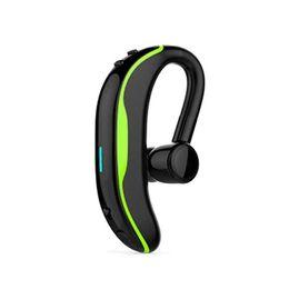 Iphone Original Headsets UK - Original Handsfree Business IPX7 Waterproof Bluetooth Headphone With Mic Voice Control Wireless Bluetooth Headset For Phones