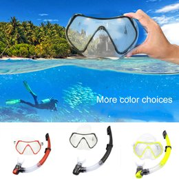 $enCountryForm.capitalKeyWord Australia - Hot Swimming Goggles Diving Mask Dry Top Snorkel Adjustable Snorkeling Gear Kit MCK99