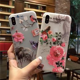sheath clip NZ - New Pattern Apple 8x Hand Shell Iphone6 Mobile Phone Set 7plus Protect Sheath Apple 5se Ultrathin Mobile Phone Set