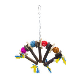 $enCountryForm.capitalKeyWord UK - Raw Solid Wood Parrot Gnaw Grinding Mouth Sensu Bird Small Favour And Put Sb. In Important Position Product Toys