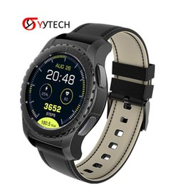 Bluetooth Smart Watch Sim Australia - SYYTECH KW28 Bluetooth Smart Watch Support SIM TF Card Pedometer Heart Rate Monitor Call SMS Reminder Smart Bracelet