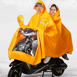 $enCountryForm.capitalKeyWord NZ - Waterproof Women Raincoat Men Hooded Jacket Moto Electric Adulto Motorcycle Rain Coats Ladies Capa De Chuva Moto Poncho 50A0079 #219961