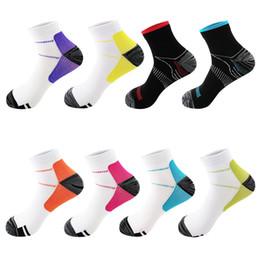 Short Compression Socks Australia - 1 Pair Men Women High Quality Foot Compression Socks Fasciitis Heel Spurs Arch Pain Soft Comfortable Short Unisex Socks Gifts