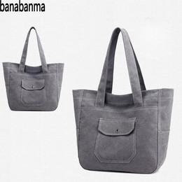 fresh phones 2019 - banabanma Women handbag Simple Fashion bag Canvas Handbag Leisure Fresh Shoulder Crossbody Bags for women 2018 bolsa fem