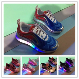 18d62b91a 2019 designer 720 children casual shoes Led Luminous Glowing Chaussures  pour enfants gilrs boys sneakers breathable kids footwear