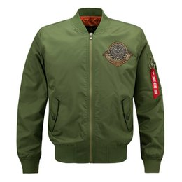 $enCountryForm.capitalKeyWord UK - Mens Designer Jackets Military Style Jackets for Men Bomber Jacket Fashion Spring Winter Coats Overcoat Big Size