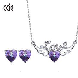 $enCountryForm.capitalKeyWord Australia - Wedding Party beaded pearl gift woman lady diamond jewelry set for bride acting initiation graduation CDE-1492