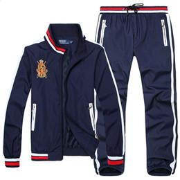 Polo Sportswear Australia - new Men's Polo Hoodies and Sweatshirts Sportswear Man Polo Jacket pants Jogging Jogger Sets Turtleneck Sports Tracksuits Sweat Suits