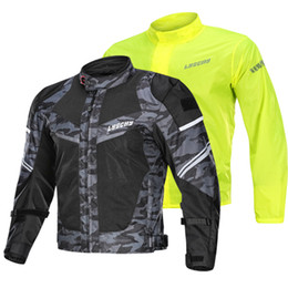 $enCountryForm.capitalKeyWord Australia - 2019 LYSCHY Summer Mesh Breathable Motorcycle Jacket 2 in 1 Waterproof Motocross Road Racing Riding Protective Jacket Chaqueta Moto Hombre