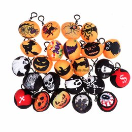 Funny cartoon bags online shopping - Halloween Plush Toy Plush Keychains Phone Backpack Pendant Soft Toy Bag Accessory Kids Funny Toys