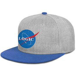 Solid Story online shopping - Logic The Incredible True Story blue mens and women snap back flat brimcap ball design fitted customize Hip Hop hats