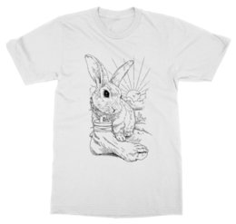$enCountryForm.capitalKeyWord UK - Lucky Bunny T-Shirt Fluffy Rabbit Easter Egg Hunt Chocolate Charm Pet Animal Zoo
