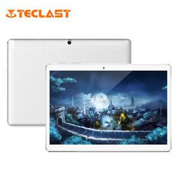 2gb Ram 16gb Rom Tablet Australia - Teclast A10H 10.1 inch Tablet PC 2GB RAM 16GB ROM Android 7.0 MTK8163 Quad Core 1.3GHz Dual Cameras Bluetooth