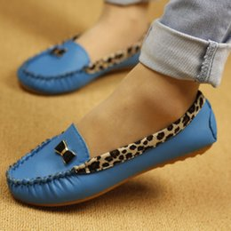 Shoes For Women Free Shipping Australia - 2019 Cheap Lowest Price !New Arrival Fashion Spring and Autumn Flats for Women Flat heel Shoes Leopard Flats Women Shoes Free Shipping