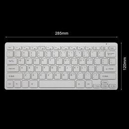 $enCountryForm.capitalKeyWord Australia - 2pcs White Mini 03 2.4G DPI Wireless Keyboard and Optical Mouse Combo for Desktop