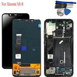 "$enCountryForm.capitalKeyWord Australia - 6.21"" For Xiaomi Mi8 LCD Display Digitizer Touch Screen With Frame Assembly for Xiaomi 8 LCD MI 8 Screen Display"